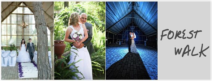 The Forest Walk Venue - Gauteng Wedding Venues