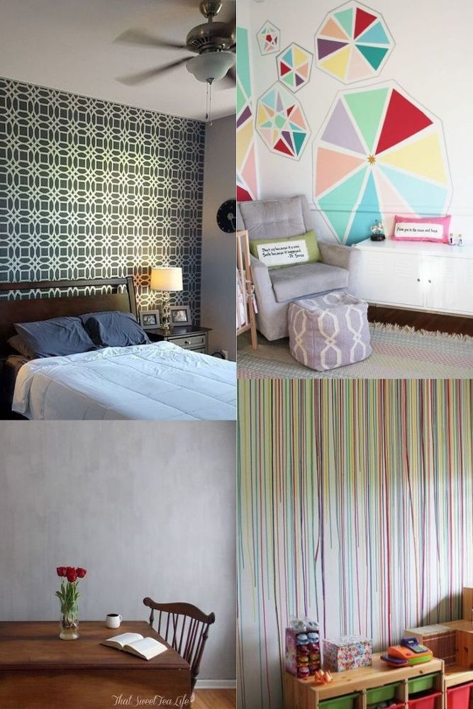 12 Diy Bedroom Wall Painting Ideas You Re Going To Love Bedroom Diy Bedroom Wall Paint Awesome Bedrooms
