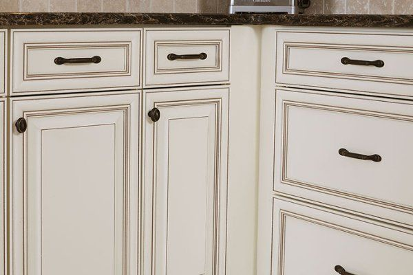 Jan 26, 2020 - Cabinet glaze is a great way to add vintage charm to your kitchen. Here we'll detail different applications of glaze that you can choose from for your cabinets.