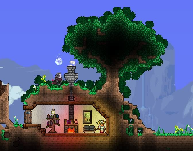 42 best terraria house ideas to build images on pinterest for Best house designs games