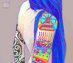 gif love beauty drawing trippy sexy beautiful painting acid psychedelic trip tattoo inked girl artwork colorful digital art tatttoos plur psychedelia artists on tumblr psilocybin artists of tumblr multicolor animated art acid art colorful tattoo edmlife LSD art trippy visuals phazed