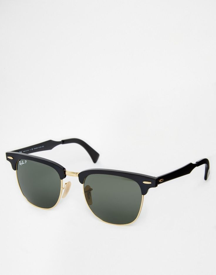 Ray-Ban Clubmaster Polarised Sunglasses 0RB3507