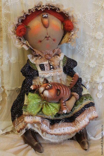Купить или заказать Миссис Котиссис и рыжий Кот в интернет-магазине на Ярмарке…
