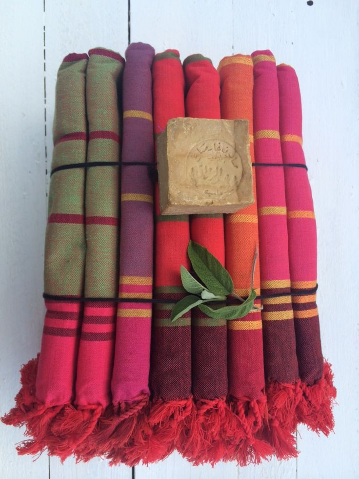 Lena Losciale. Hamam towels. Aleppo soap. Walk in beauty.