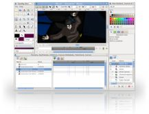 Synfig Studio is a free and open-source 2D animation software, designed as powerful industrial-strength solution for creating film-quality animation using a vector and bitmap artwork. It eliminates the need to create animation frame-by frame, allowing you to produce 2D animation of a higher quality with fewer people and resources. Synfig Studio is available for Windows, Linux and MacOS X.
