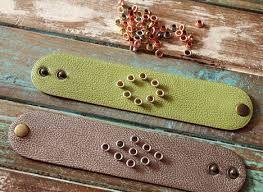 Image result for leather cuff bracelet diy