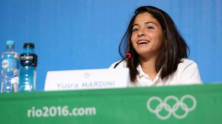 Flüchtlingsmädchen schwimmt bei Olympischen Spielen: Vor einem Jahr kam Yusra Mardini nach Deutschland: Die leidenschaftliche Schwimmerin floh vor dem Krieg in Syrien aus ihrer Heimat Damaskus. Die 18-Jährige riskierte ihr Leben auf der Balkanroute, setzte in einem überladenen Schlauchboot über das Mittelmeer.