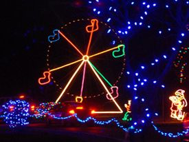 Christmas In The Park, Longview Lake. An amazing lights display ...