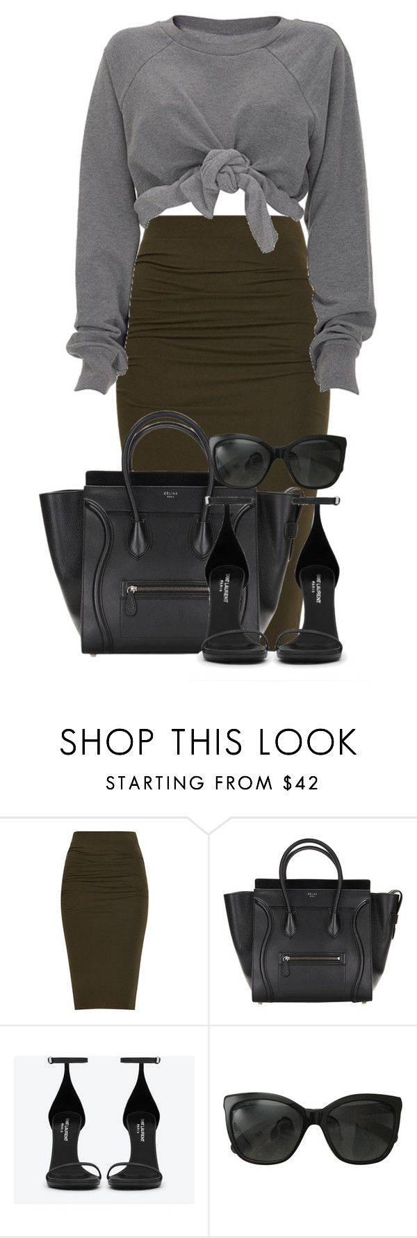 """"""":: Fall 2k15 ::"""" by camgueyana ❤ liked on Polyvore featuring Yves Saint Laurent, Chanel, women's clothing, women, female, woman, misses and juniors"""