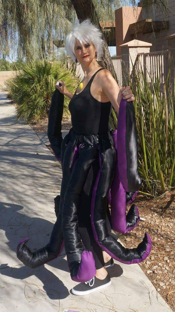 2016 Halloween - DIY Ursula costume.  sc 1 st  Pinterest & 8 best Our Family Halloween Costumes images on Pinterest | Family ...