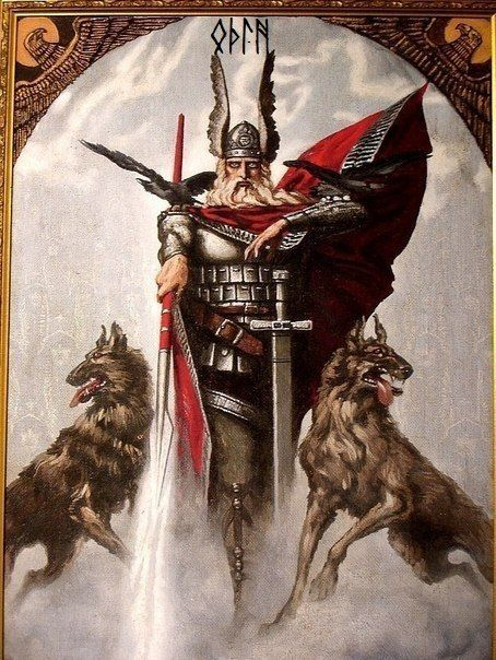Happy Wednesday!!!! (Glædelig Onsdag!!!!) Wotan - Odin. Or as the Anglo-Saxons called him: Woden....