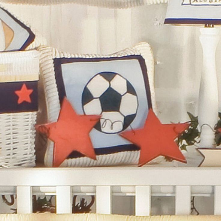 Brandee Danielle All Star Soccer Decorative Pillow - 140AAS