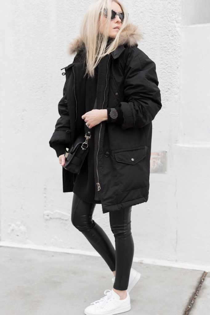 7 Ways to Make Your Heavy Parka Actually Look Cute | Her Campus // parka parka