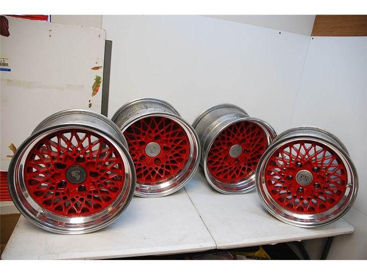 BBS E50 Porsche Magnesium Wheels 5x130 16x9 16x11 $2,500.00 #Bimmerforums #BMW