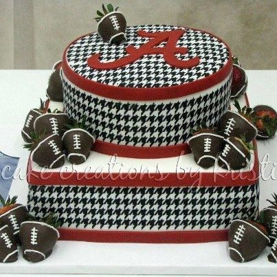 Alabama crimson tide cakes - Google Search