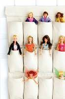 Fun way to store Barbie!