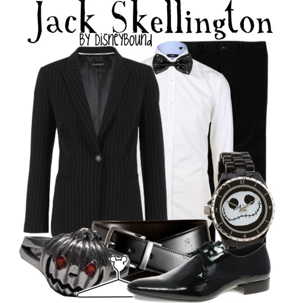 Jack Skellington, I'd wear the hell out of this! (Just have to make a few girlie tweeks)