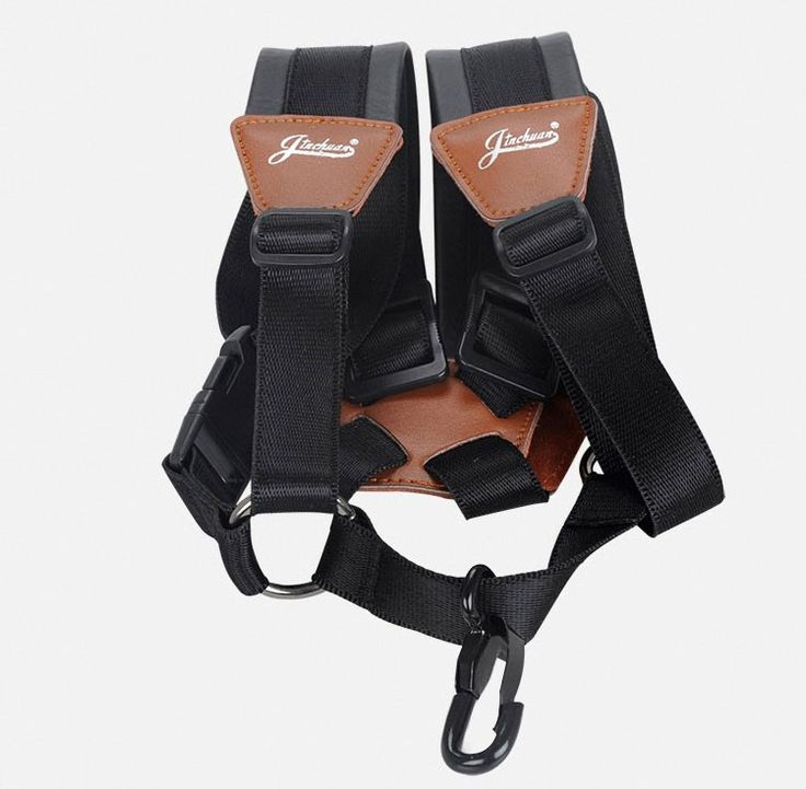==> [Free Shipping] Buy Best 2017 Wholesale Alto tenor saxophone Professional adjustable leather strap snap hook whip sax neck double shoulder straps black Online with LOWEST Price   32787491452