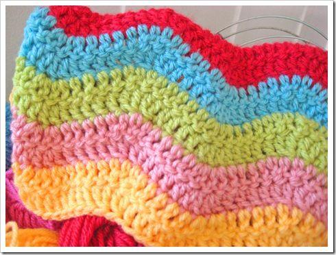 17 Best ideas about Crochet Ripple on Pinterest Crochet ...