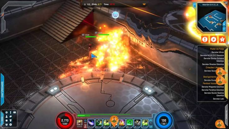Lv99 - Marvel Heroes Online Green Goblin Holo-Sim Gameplay