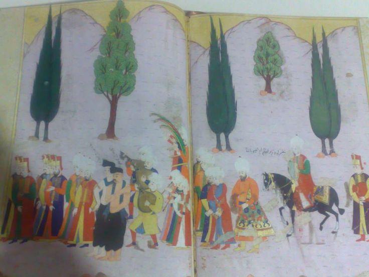 İbrahim Paşa sanata düşkün bir paşaydı.Pargalı ve alayı...Şehzadeler gibi ilerliyor.