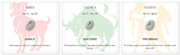 Daily Runescope 12/31/2016 #Horoscope #Zodiac #aries #taurus #gemini