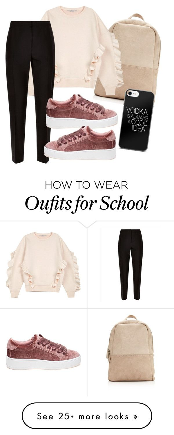 """""""School"""" by stunnerjoy on Polyvore featuring STELLA McCARTNEY, Jaeger and Steve Madden"""