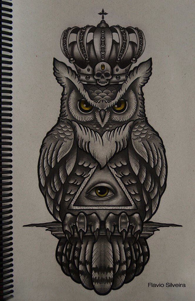 illuminati owl drawing - photo #17