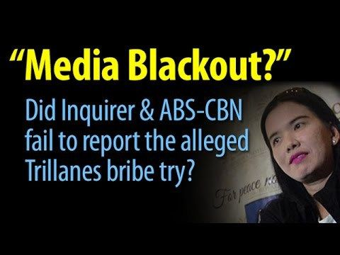 """Did Inquirer & ABS-CBN """"Media blackout"""" the alleged Trillanes' bribe attempt? - WATCH VIDEO HERE -> http://dutertenewstoday.com/did-inquirer-abs-cbn-media-blackout-the-alleged-trillanes-bribe-attempt/   News video courtesy of The Storyteller YouTube channel  Disclaimer: The views and opinions expressed in this video are those of the YouTube Channel owners and do not necessarily reflect the opinion or position of the site owners/FB admins."""