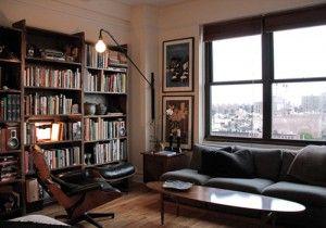 Apartment Design for Men Library 300x210 Apartment design ideas for men