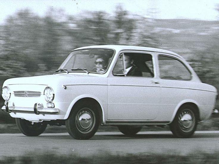 1964 Fiat | 1965 Fiat 850 (c) Fiat. De eerste auto van mijn ouders.