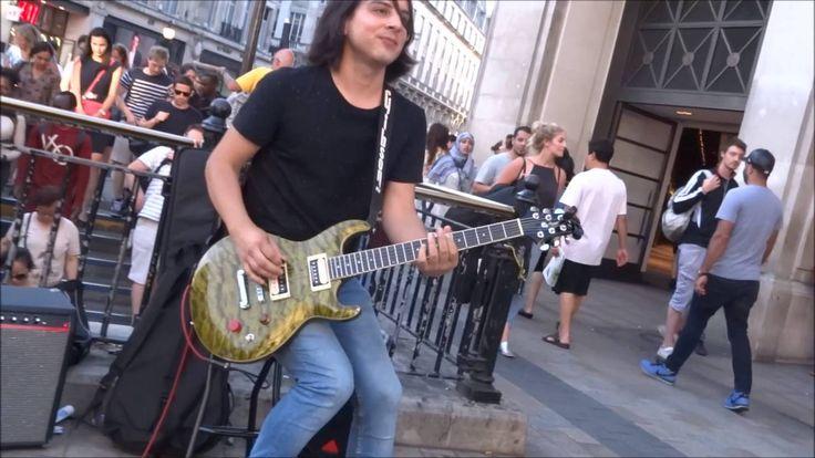 Miguel Montalban - Bohemian Rhapsody - Awesome busker @ Oxford Circus Tu...