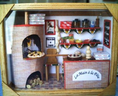 pizzerria cadre vitrine pinterest cadre vitrine vitrines et cadres. Black Bedroom Furniture Sets. Home Design Ideas