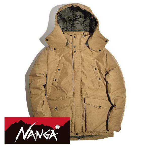 【送料無料】NANGA(ナンガ) TAKIBI タキビ ダウンジャケット 760FP ヨーロピアンホワイトダックダウン 燃えにくい MADE IN JAPAN