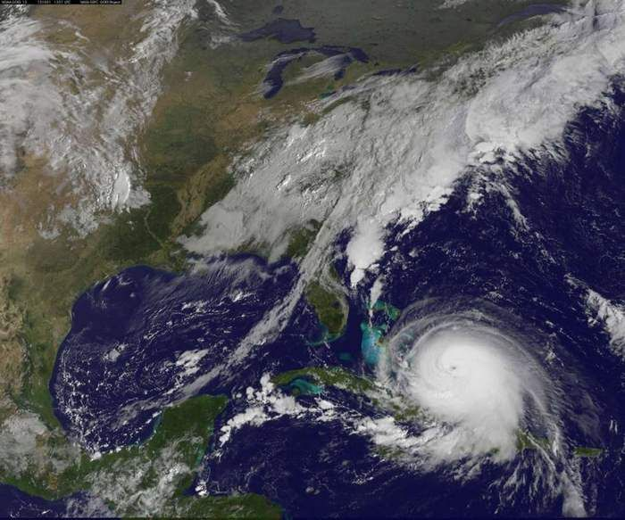 Hurricane Joaquin a Category 4 Storm strengthening over Bahamas   , - ,   Hurricane Joaqui...