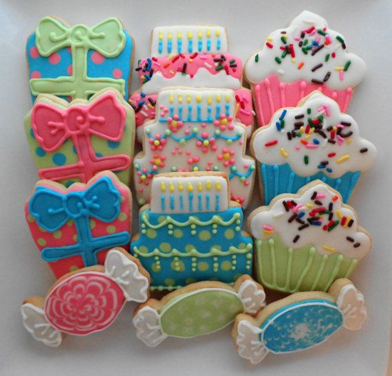 191 Best Images About Birthday Decorated Cookies And Cake