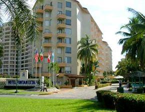 Hotel Fontan, Ixtapa Zihuatanejo, Guerrero - Sobre la playa, cerca del club de golf Palma Real.