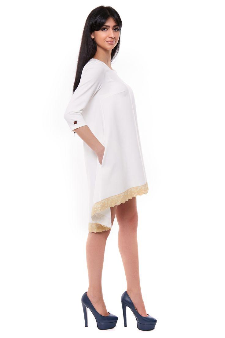 "Платье ""Виола"" беж - http://uarefashion.com/shop/clothes/plate-viola-bezh/"