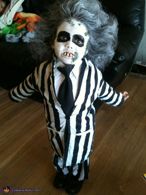 Beetlejuice - Homemade Halloween Costume