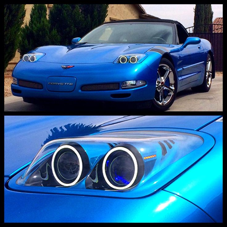 Chevrolet Corvette C5 Bandit Headlights by VetteSthetics. Click to view more photos and mod info.