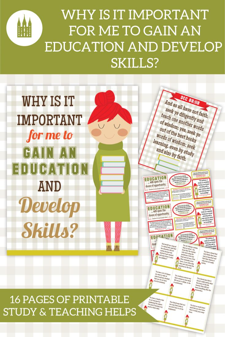 why education is important to me There are many reasons why education is important to me one reason is because it will center on a better career most employers will not employ me if i don't have a college education in the required field.