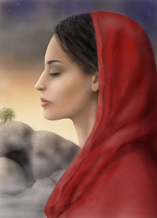 Mary Magdalene  she was with the one of  Myrrhbearers, the other Myrrrhbearers also Apostles to the Apostles are Mary,the mother of James & Joses Mary,the wife of Cleopas,Martha of Bethany,Sister of Lazarus,Mary of Bethany, Sister of Lazarus Joanna, the wife of Chuza the steward of Herod Antipas, Salome, the mother of James & John, the sons of Zebedee Susanna. The women followed Jesus during his earthly ministry in Galilee, providing for him and his followers out of their own means (Mark…