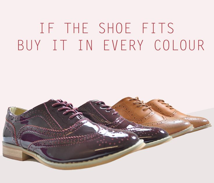 WOOPS...we forgot the other colours!!! You can try Burgundy patent or Tan matt: http://www.shoesdays.co.uk/collections/brogue