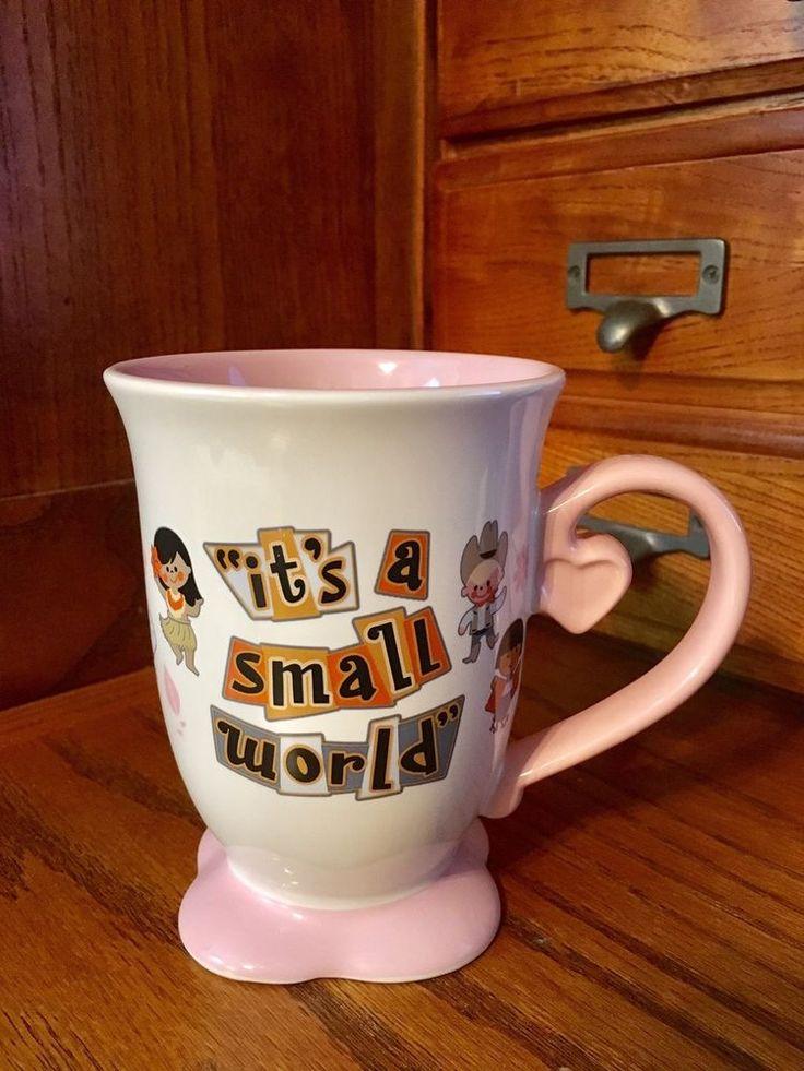 Dinsey It's a Small World Coffee Mug Disney Parks  | eBay
