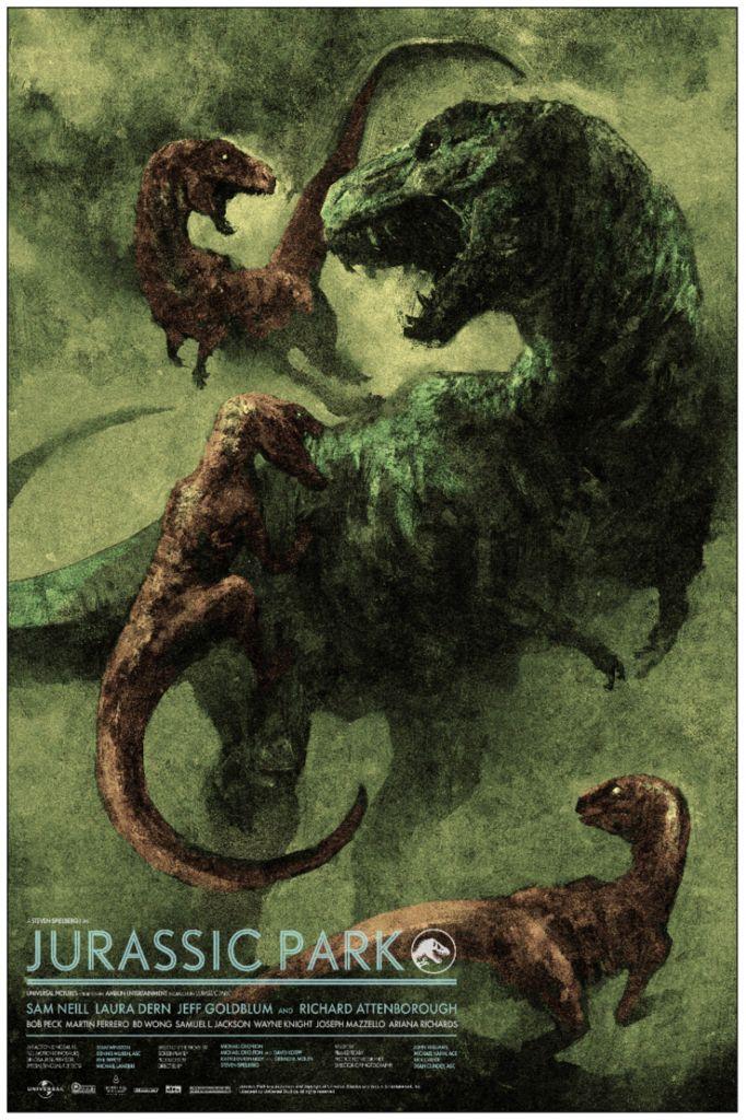 Jurassic Park (1993) [600 x 800] Peliculas, Películas