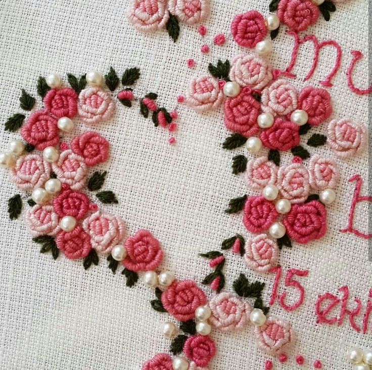 4506 Best Embroidery Images On Pinterest Stitches Embroidery
