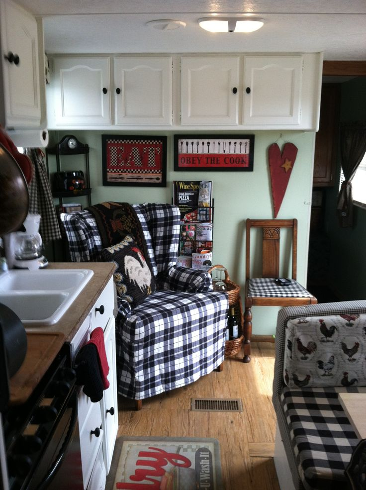 These are some pictures of my little RV that I remodeled and is now rented in Garden City Tx.
