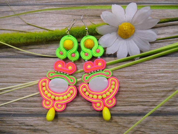 Ohrringe - Ohrringe Technik soutache - ein Designerstück von Joana311 bei DaWanda