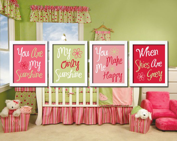 17 best ideas about pink green nursery on pinterest green nursery girl pink and green nursery. Black Bedroom Furniture Sets. Home Design Ideas