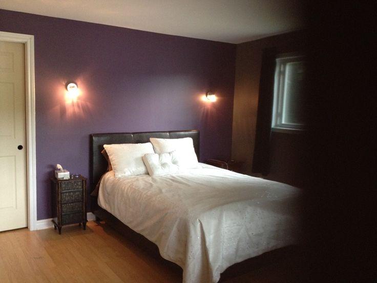 #renovation de #chambre : ériger un mur pour créer un garde-robe walk-in et installation de luminaires muraux -- #renoaumax